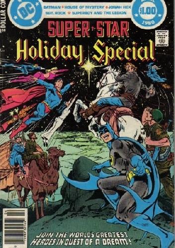 Okładka książki DC Super Star Holiday Special