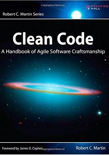 Okładka książki Clean Code: A Handbook of Agile Software Craftsmanship
