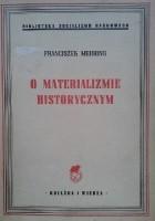 O materializmie historycznym