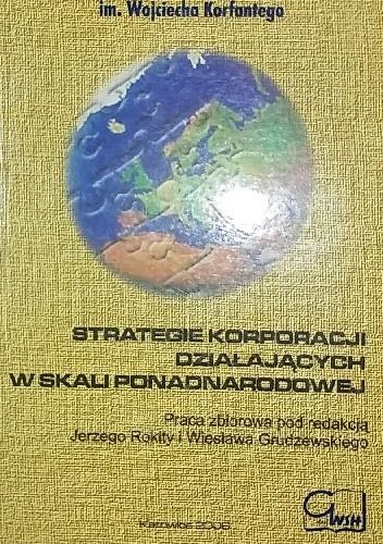 Okładka książki Strategie korporacji działających w skali ponadnarodowej