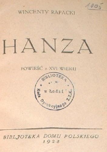 Okładka książki Hanza