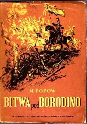 Okładka książki Bitwa pod Borodino