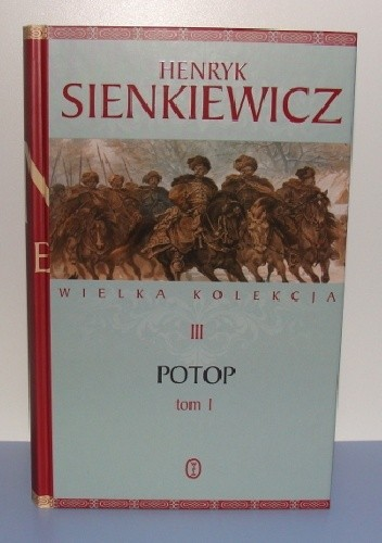 Okładka książki Potop t. I