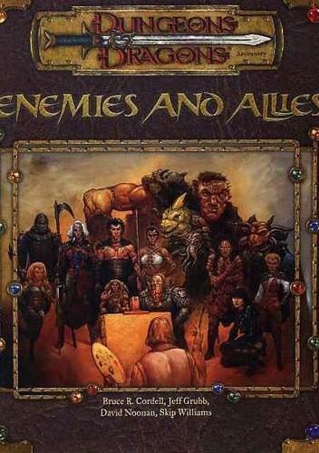Okładka książki Enemies and Allies
