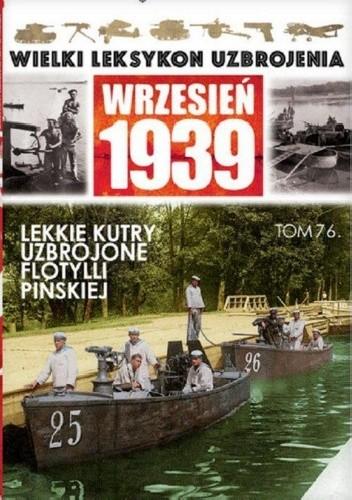 Okładka książki Lekkie kutry uzbrojone Flotylli Pińskiej