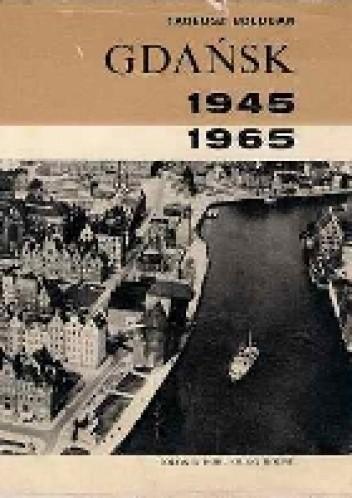 Okładka książki Gdańsk 1945 - 1965