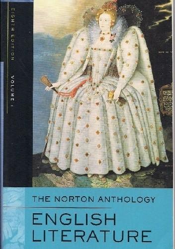 Okładka książki The Norton Anthology. English Literature.