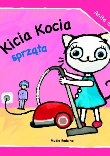 Okładka książki Kicia Kocia sprząta