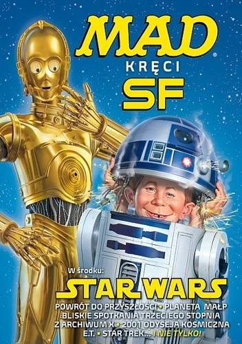 Okładka książki MAD kręci sci-fi