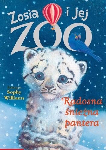 Okładka książki Radosna śnieżna pantera