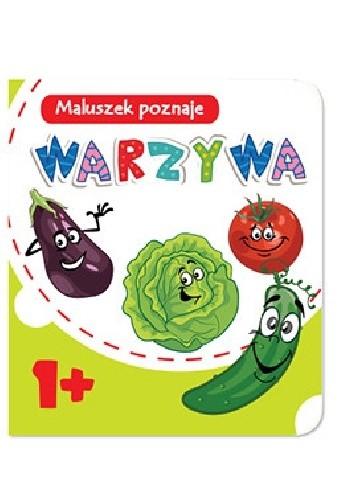 Okładka książki Maluszek poznaje. Warzywa