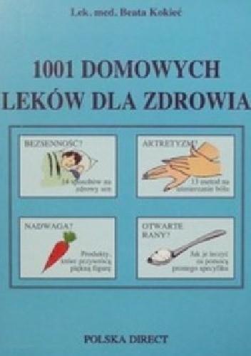 Okładka książki 1001 domowych leków dla zdrowia