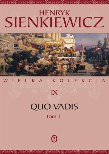 Okładka książki Quo vadis tom 1