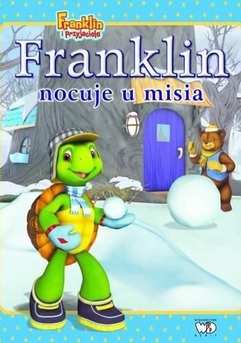 Okładka książki Franklin nocuje u misia