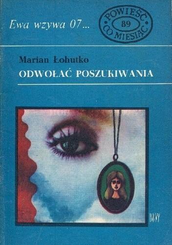 Okładka książki Odwołać poszukiwania