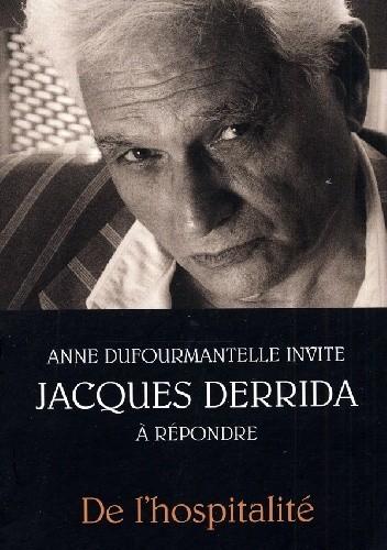 Okładka książki De l'hospitalité