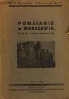 Powstanie w Warszawie. Fakty i dokumenty