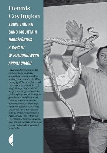 Okładka książki Zbawienie na Sand Mountain. Nabożeństwa z wężami w południowych Appalachach