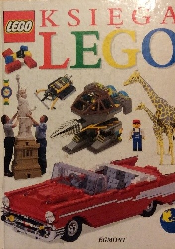 Okładka książki Księga LEGO
