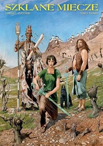Okładka książki Szklane Miecze #3: Tigran