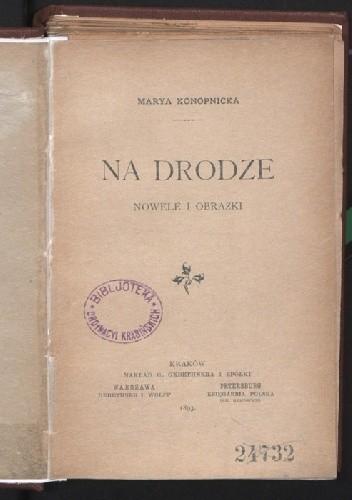 Okładka książki Na drodze. Nowele i obrazki