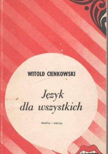 Okładka książki Język dla wszystkich