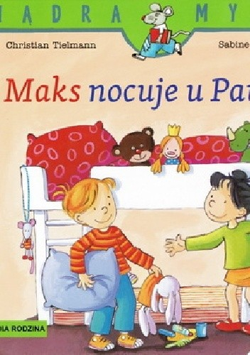 Okładka książki Maks nocuje u Pauliny