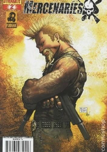 Okładka książki Mercenaries