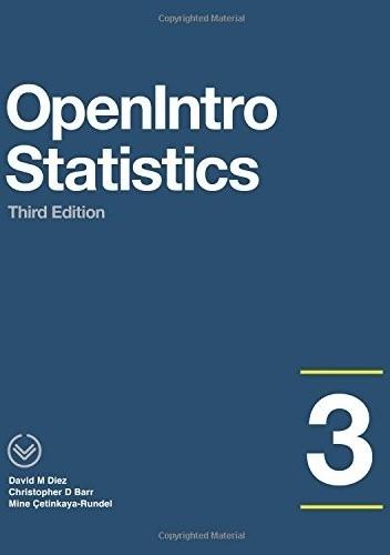 Okładka książki OpenIntro Statistics