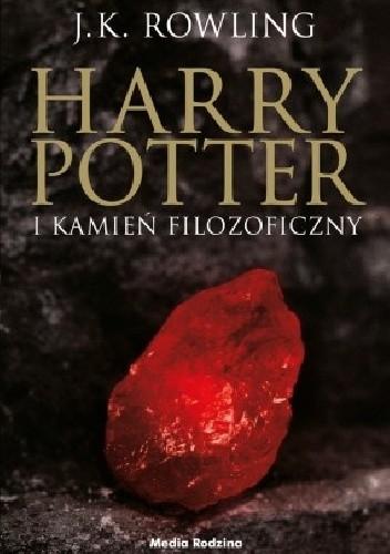 Okładka książki Harry Potter i Kamień Filozoficzny