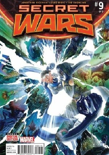 Okładka książki Secret Wars #9 - Beyond