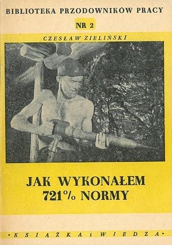 Okładka książki Jak wykonałem 721% normy