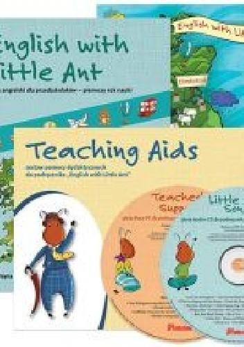 Okładka książki English with Little Ant. Język angielski dla przedszkolaków - pierwszy rok nauki