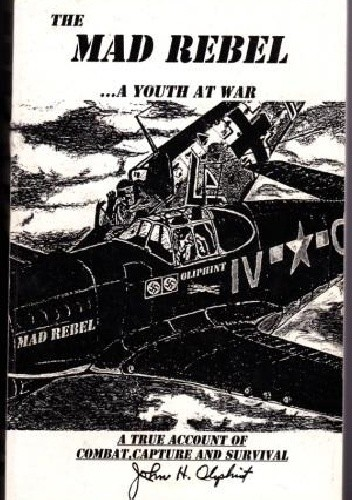 Okładka książki The Mad Rebel - a Youth at War. A True Personal Account of Aerial Combat and Survival after Capture