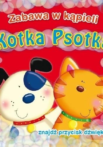 Okładka książki Zabawa w kąpieli. Kotka psotka