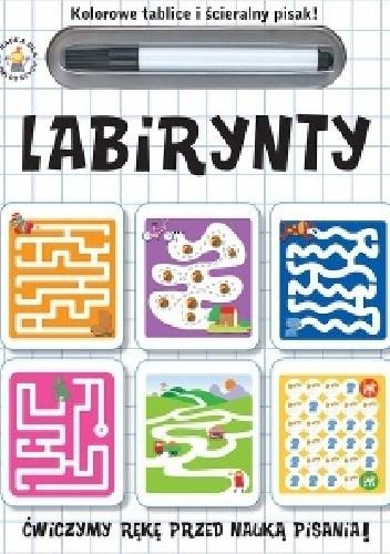 Okładka książki Labirynty