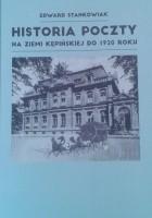 Historia poczty na ziemi kępińskiej do 1920 roku