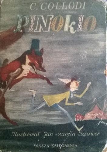 Okładka książki Pinokio. Przygody drewnianego pajaca