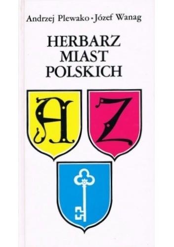 Okładka książki Herbarz miast polskich
