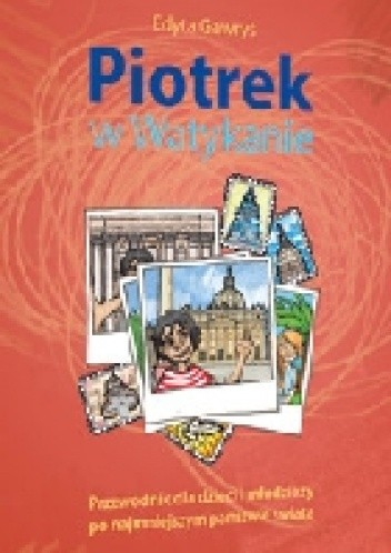 Okładka książki Piotrek w Watykanie