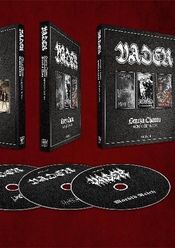 Okładka książki Vader. Geneza Chaosu MXMLXXXIII-MCMXC + 3CD