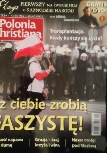 Okładka książki Polonia Christiana, listopad-grudzień 2012