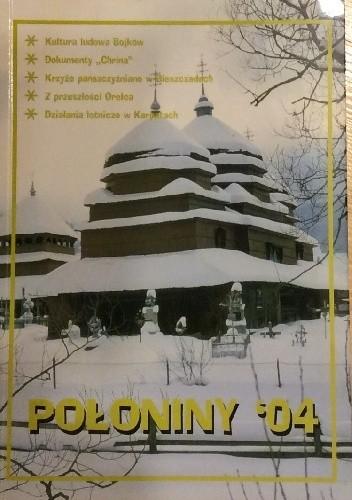 Okładka książki Połoniny '04