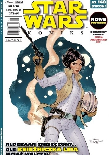 Okładka książki Star Wars Komiks 1/2016 - Księżniczka Leia