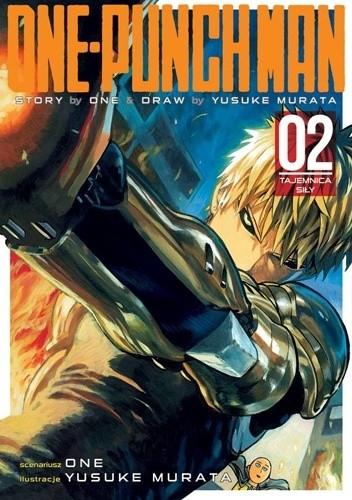Okładka książki One-Punch Man tom 2 - Tajemnica siły