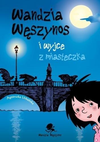 Okładka książki Wandzia Węszynos i wyjce z miasteczka