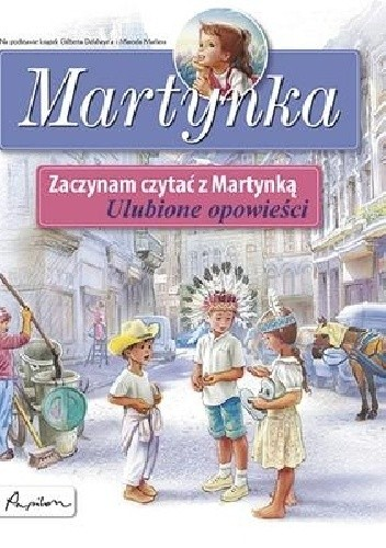 Okładka książki Martynka. Ulubione opowieści