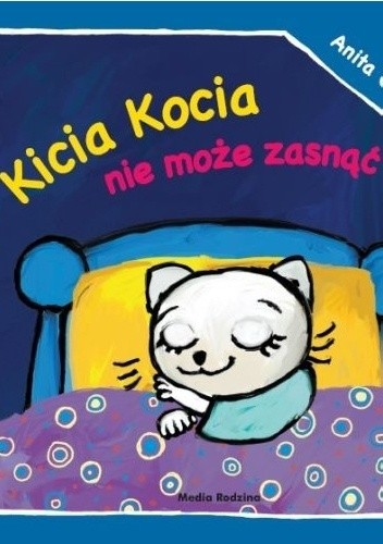 Okładka książki Kicia Kocia nie może zasnąć