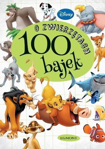 Okładka książki 100 bajek o zwierzętach