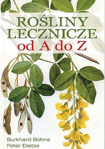 Okładka książki Rośliny lecznicze od A do Z